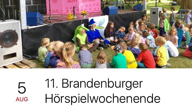 Brandenburger Hörspielwochenende_Programm für die KLeinen