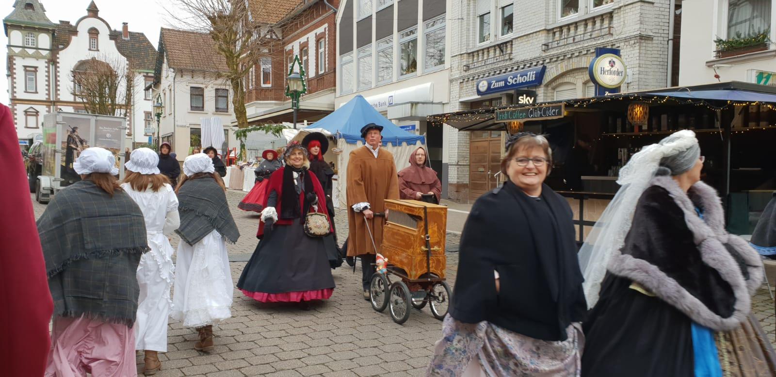 Historisches Marktreiben in Blomberg