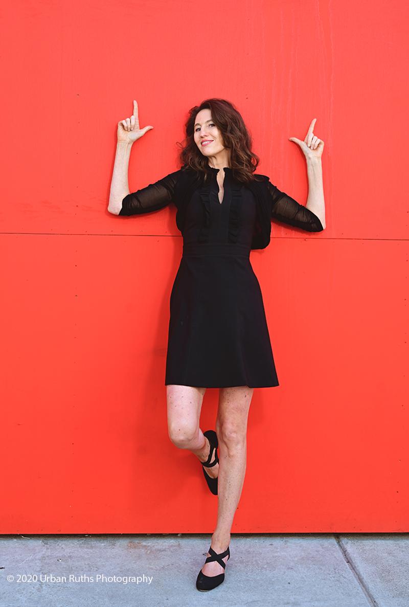 Corinna Bergmann red wall